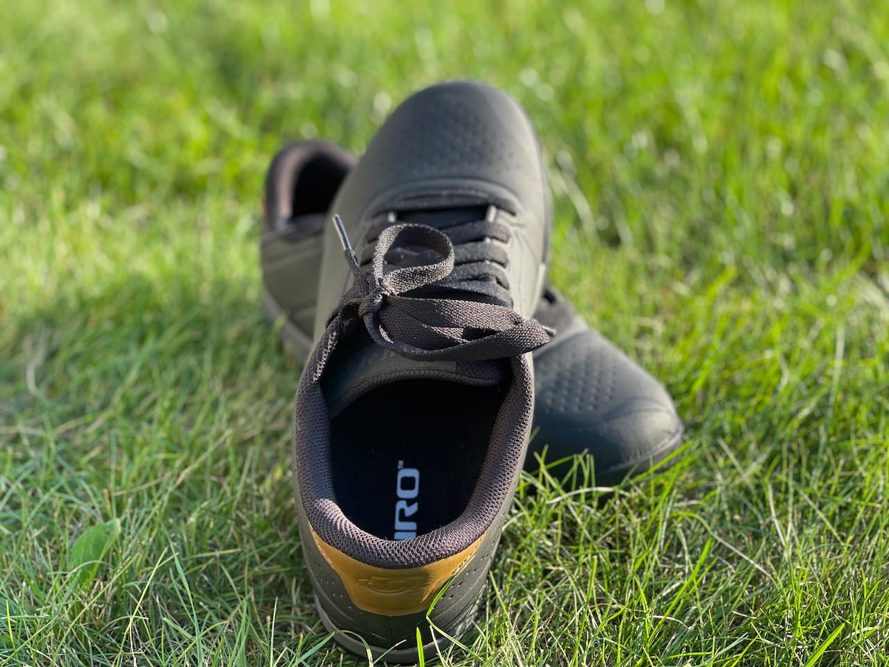 Giro Latch MTB shoes heel cup