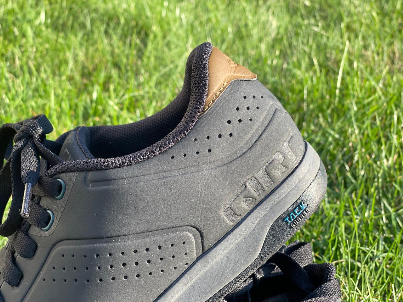 Giro Latch MTB shoes heel detail