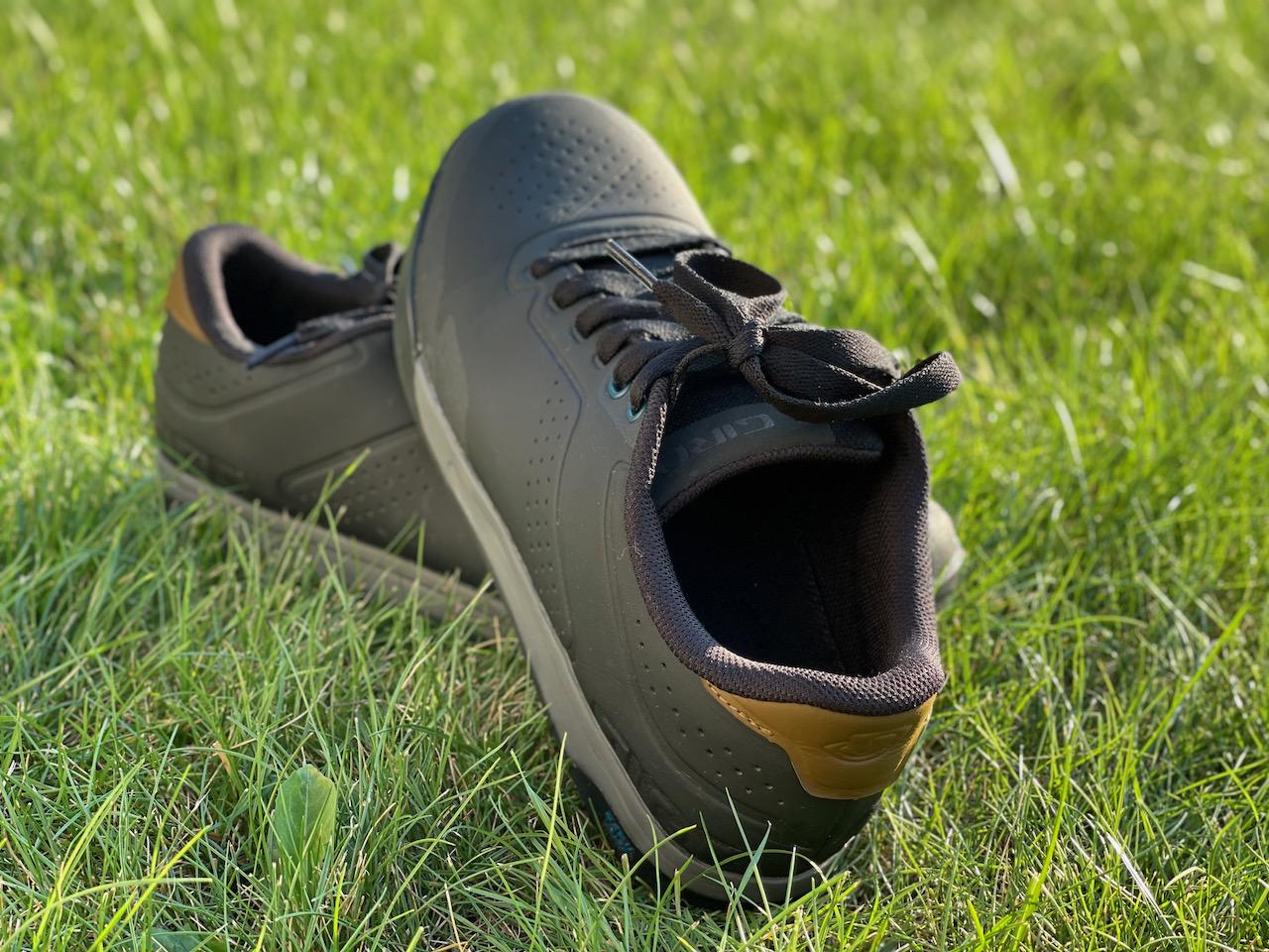 Giro Latch MTB shoes heel side