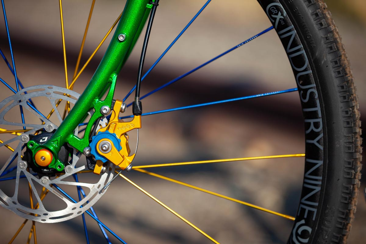 PAUL x Sierra Nevada custom Surly Stragglers with custom I9 wheels