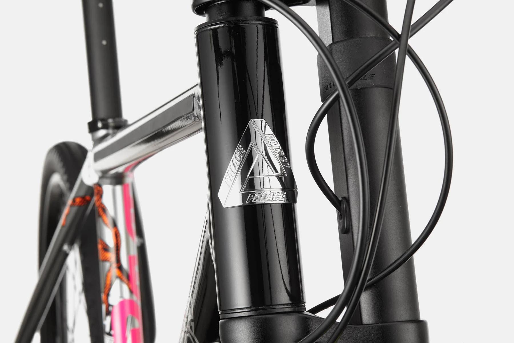 Cannondale x Palace Mad Boy head badge