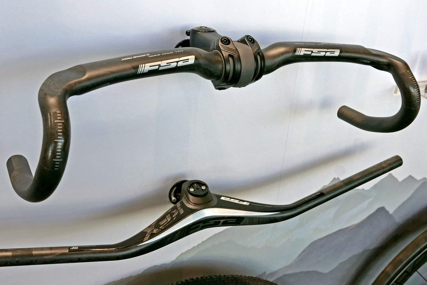 2022 FSA road, gravel & mountain bike component highlights, cockpit