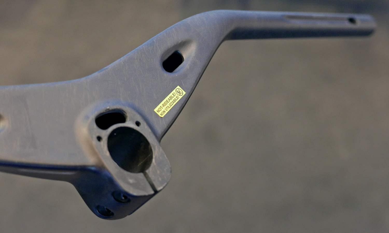 FSA KFX SIC integrated XC MTB handlebar, bottom