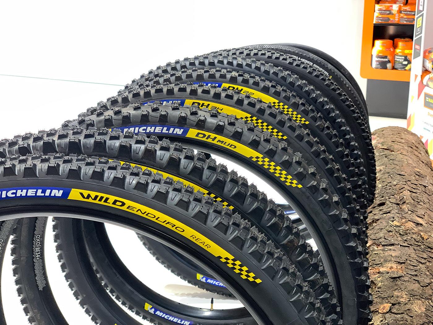 new michelin wild enduro mountain bike tire