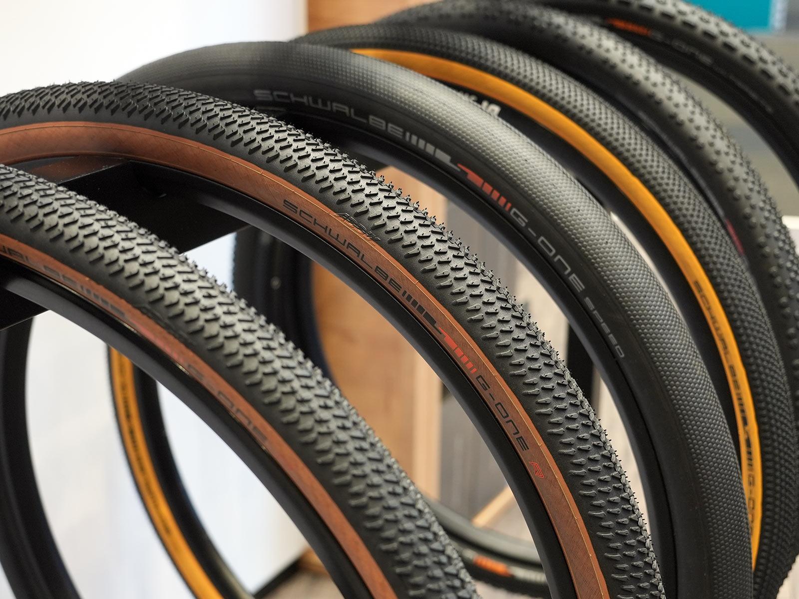 schwalbe G One R gravel racing tire