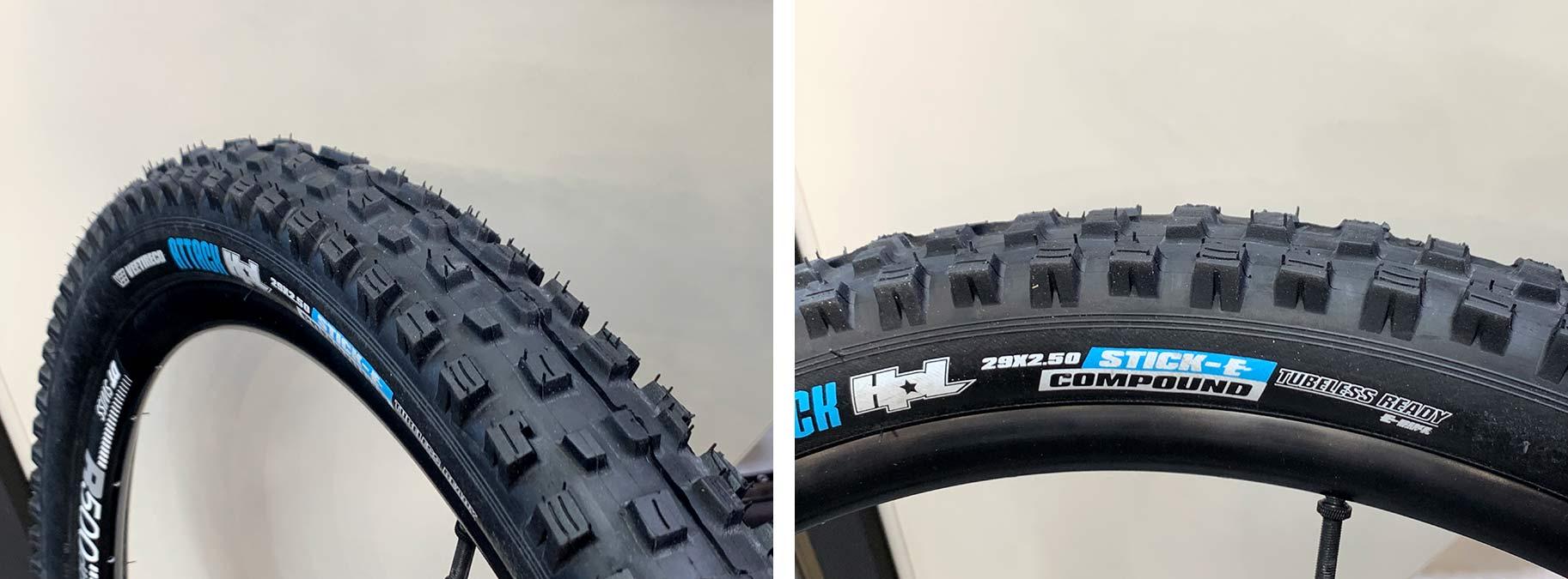 vee tire attack stick-e rubber eMTB tires