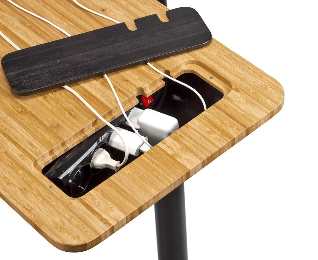 Elite Training Desk multi-purpose indoor training gadget table, wires