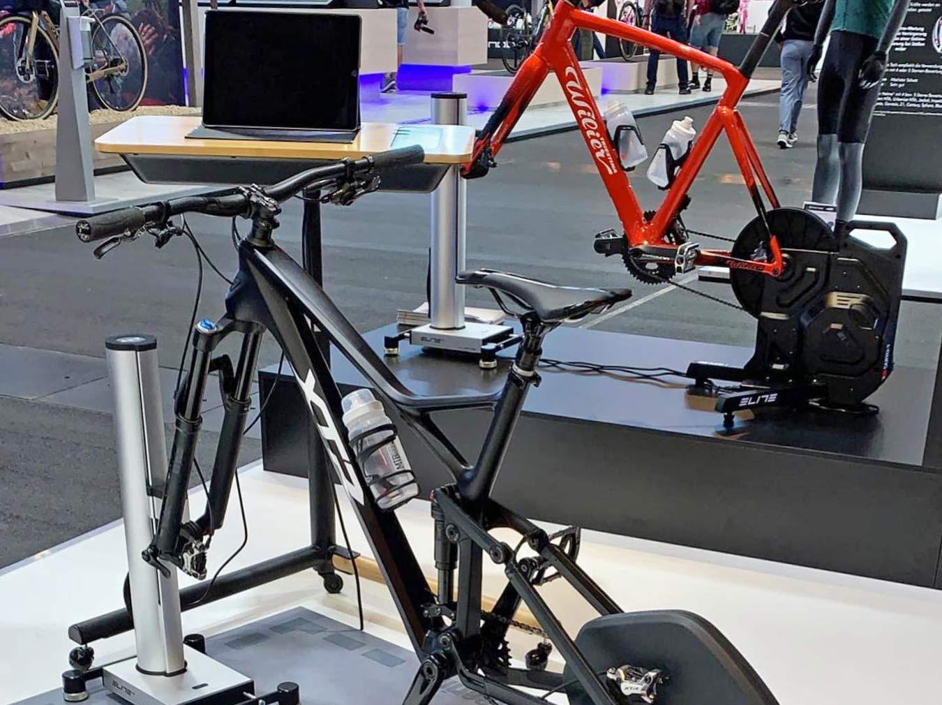 Elite Training Desk multi-purpose indoor training gadget table, Eurobike