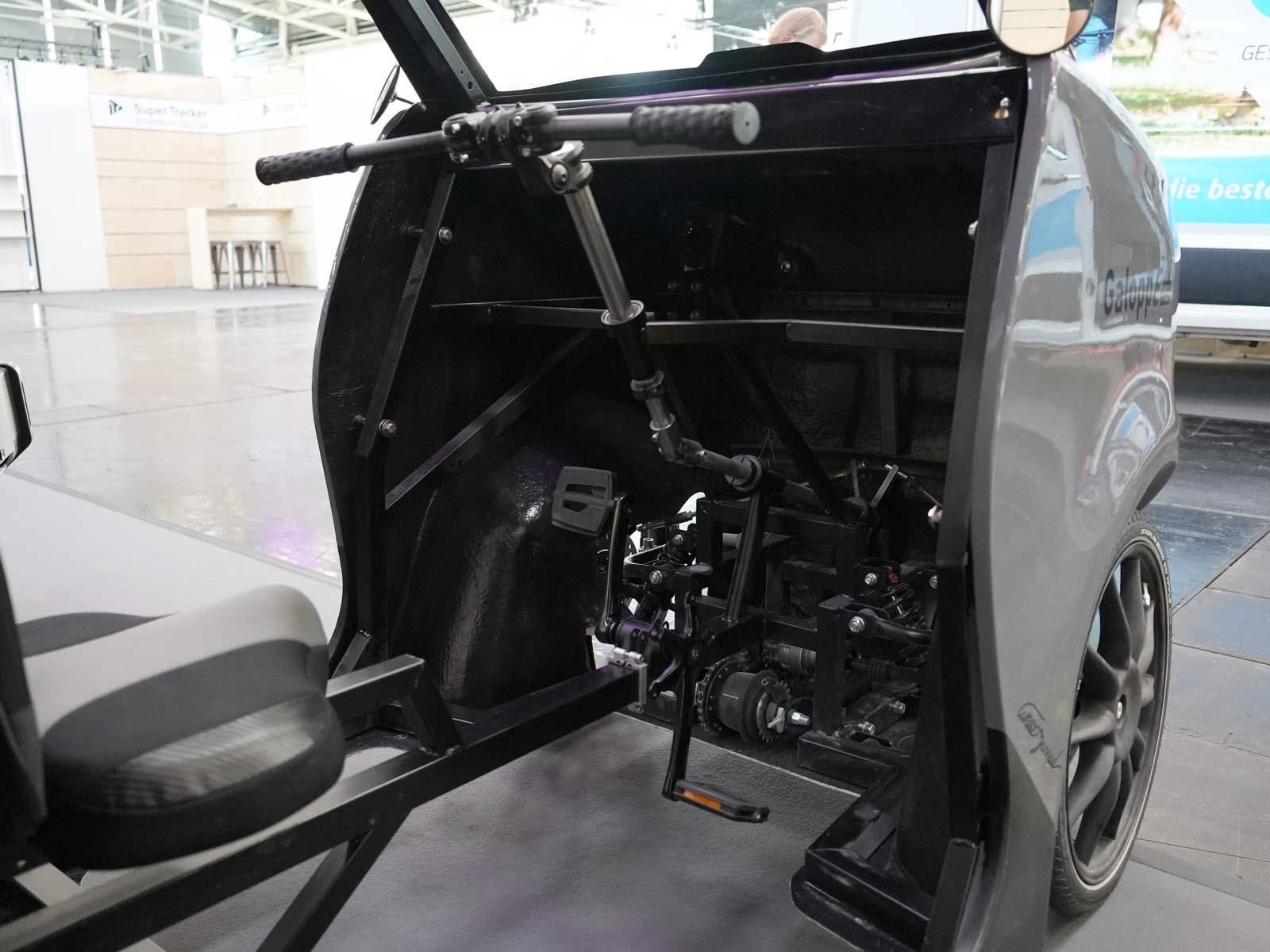 akkurad galoppe pep e-bike cargo truck concept