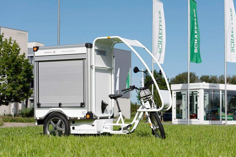 schaeffler group bike by wire electronically controlled e-bike