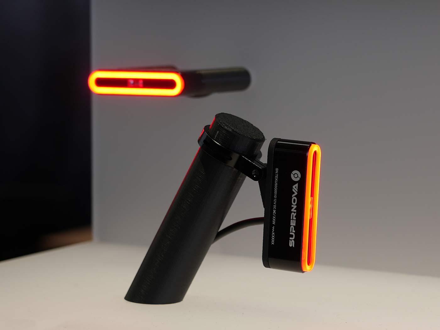 supernova TL3 Pro bicycle tail light with brake lights