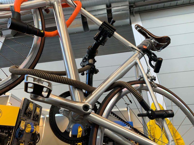 tex-lock flexible bike lock combo with u lock from eurobike 2021