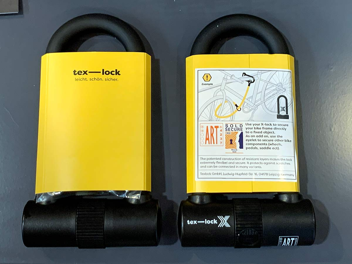 Tex-Lock u-locks are sold secure gold rated