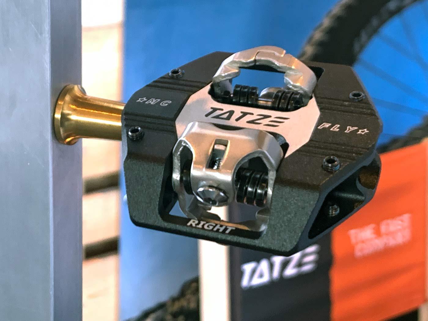 tatze xc mountain bike pedal with pins