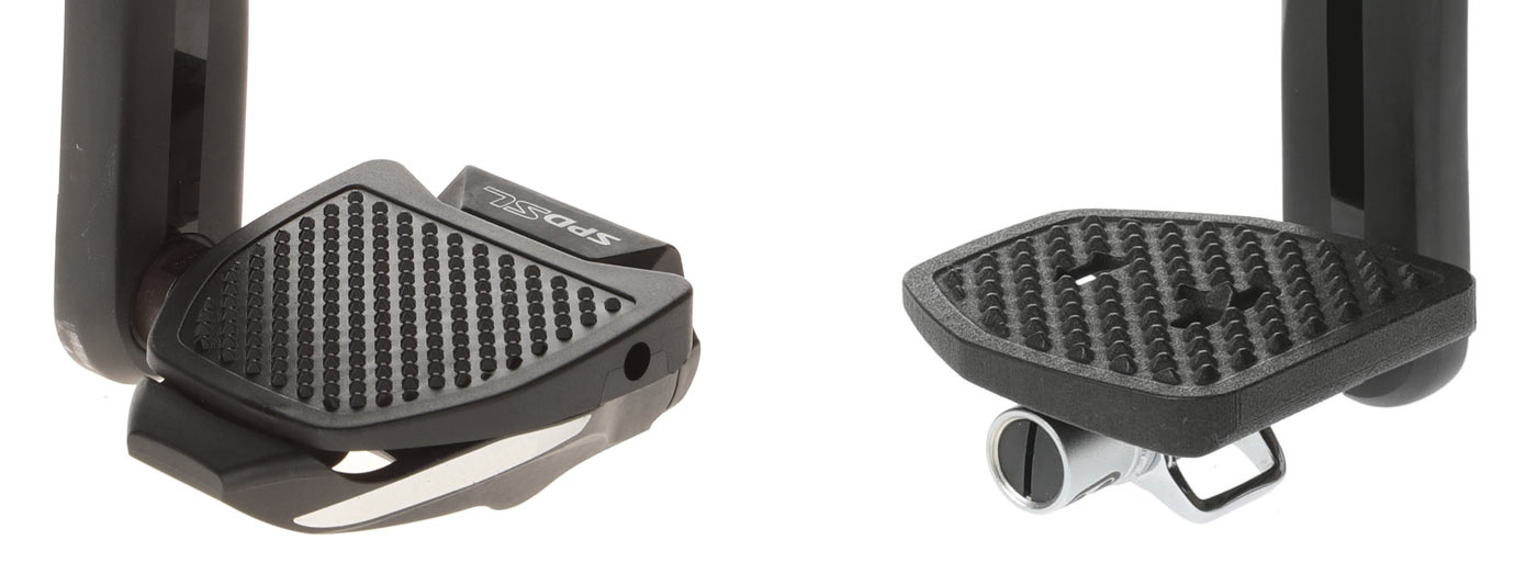 pedal plate clip in platform adapters