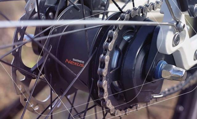 Shimano Nexus e-bike specific rear hub