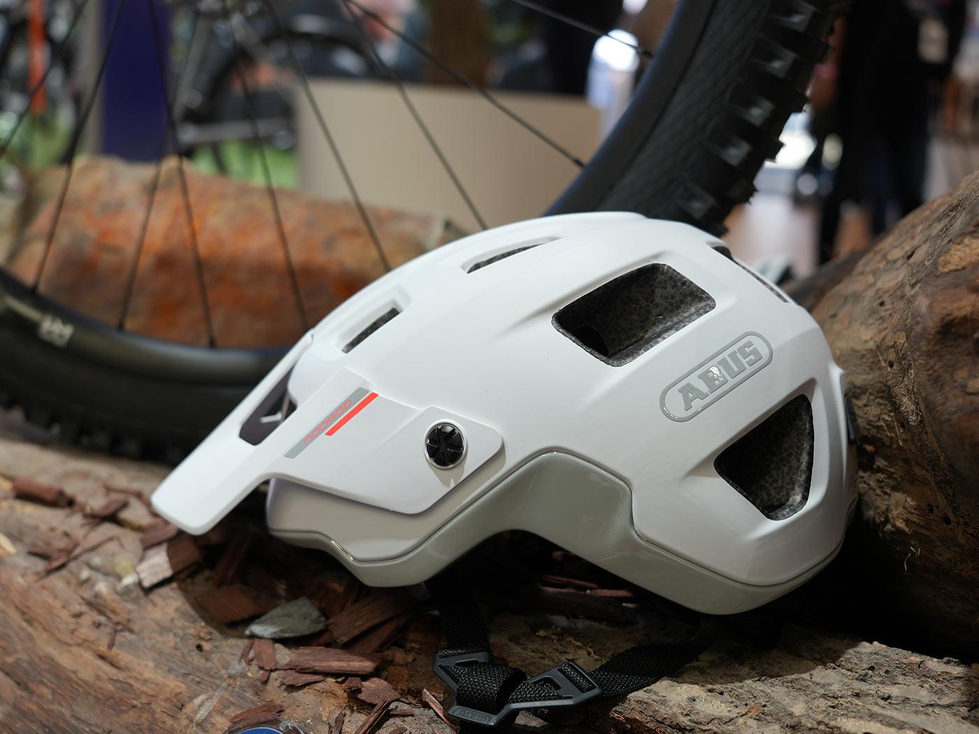 abus modrop mountain bike helmet
