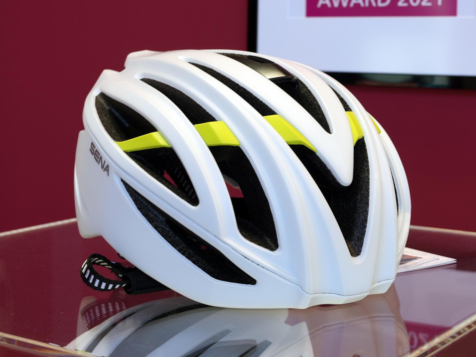 sena r2 road bike helmet with intercom wireless communication and bluetooth speaker