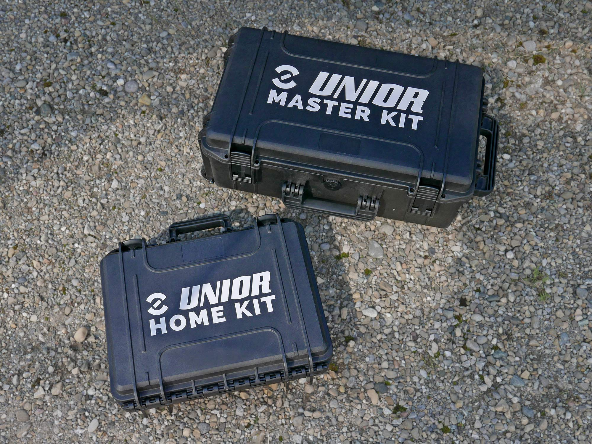 Unior professional bike tools made in Europe, Master & Home Kit toolboxes