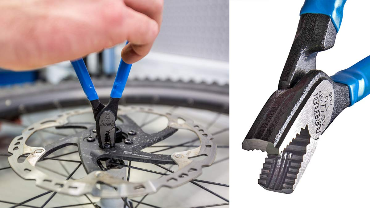 Unior professional bike tools made in Europe, screw pliers