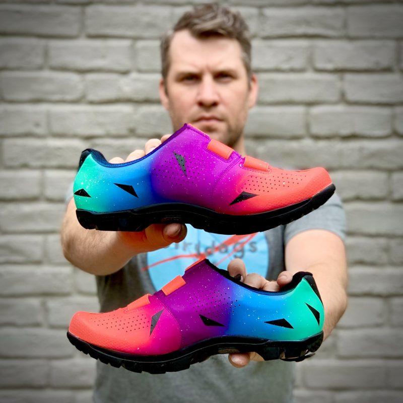 handske x kdd custom painted shoes