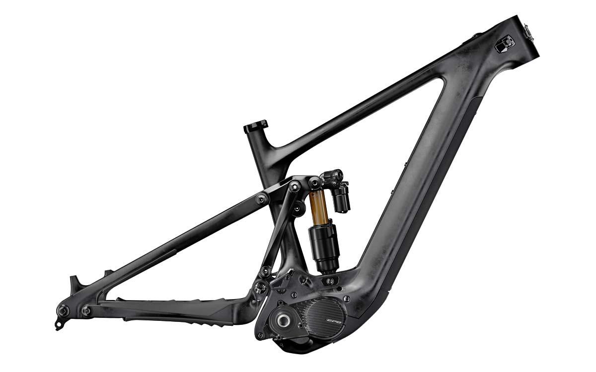 Yeti 160E EWS racing e-bike, all-new 6-bar suspension carbon 160mm eMTB,frameset