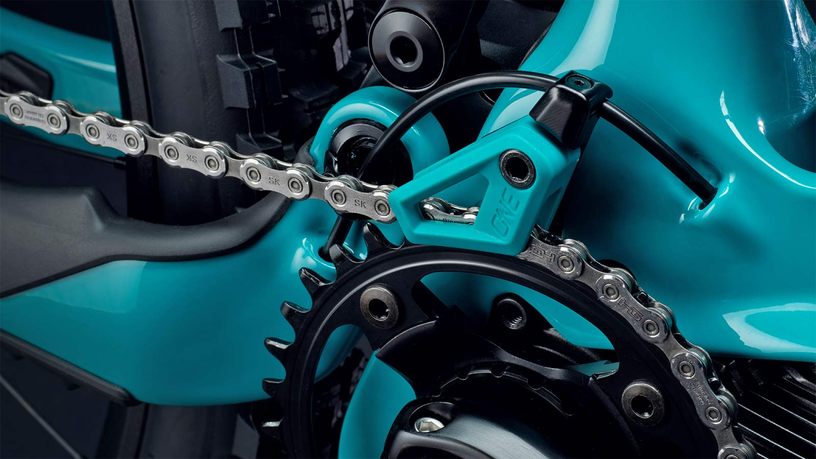 Yeti 160E EWS racing e-bike, all-new 6-bar suspension carbon 160mm eMTB,chain guide