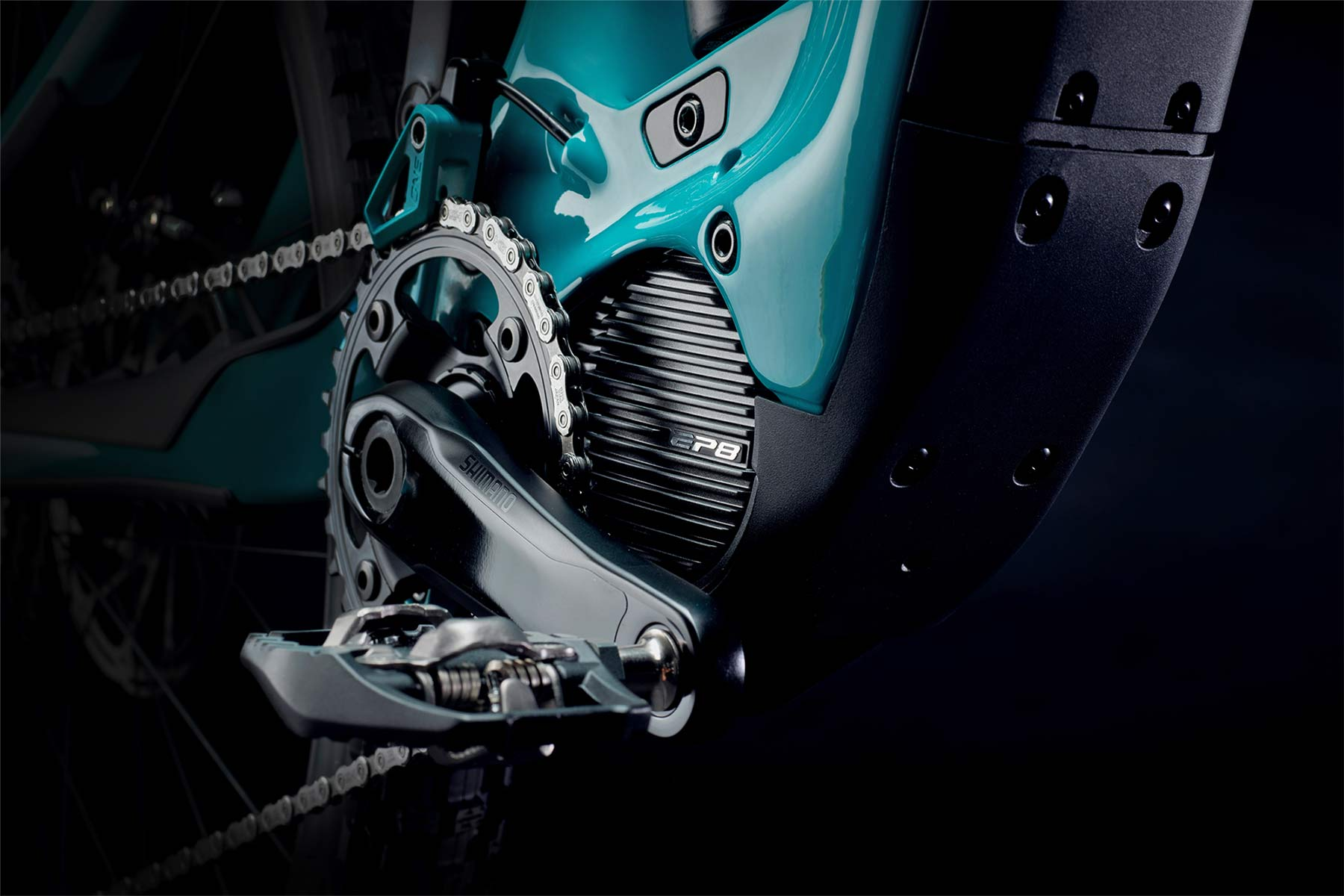 Yeti 160E EWS racing e-bike, all-new 6-bar suspension carbon 160mm eMTB,Shimano EP8