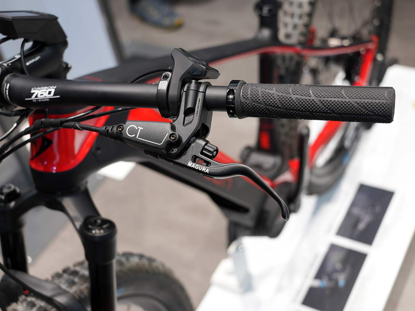 new commuter brake lever for e-bikes from magura