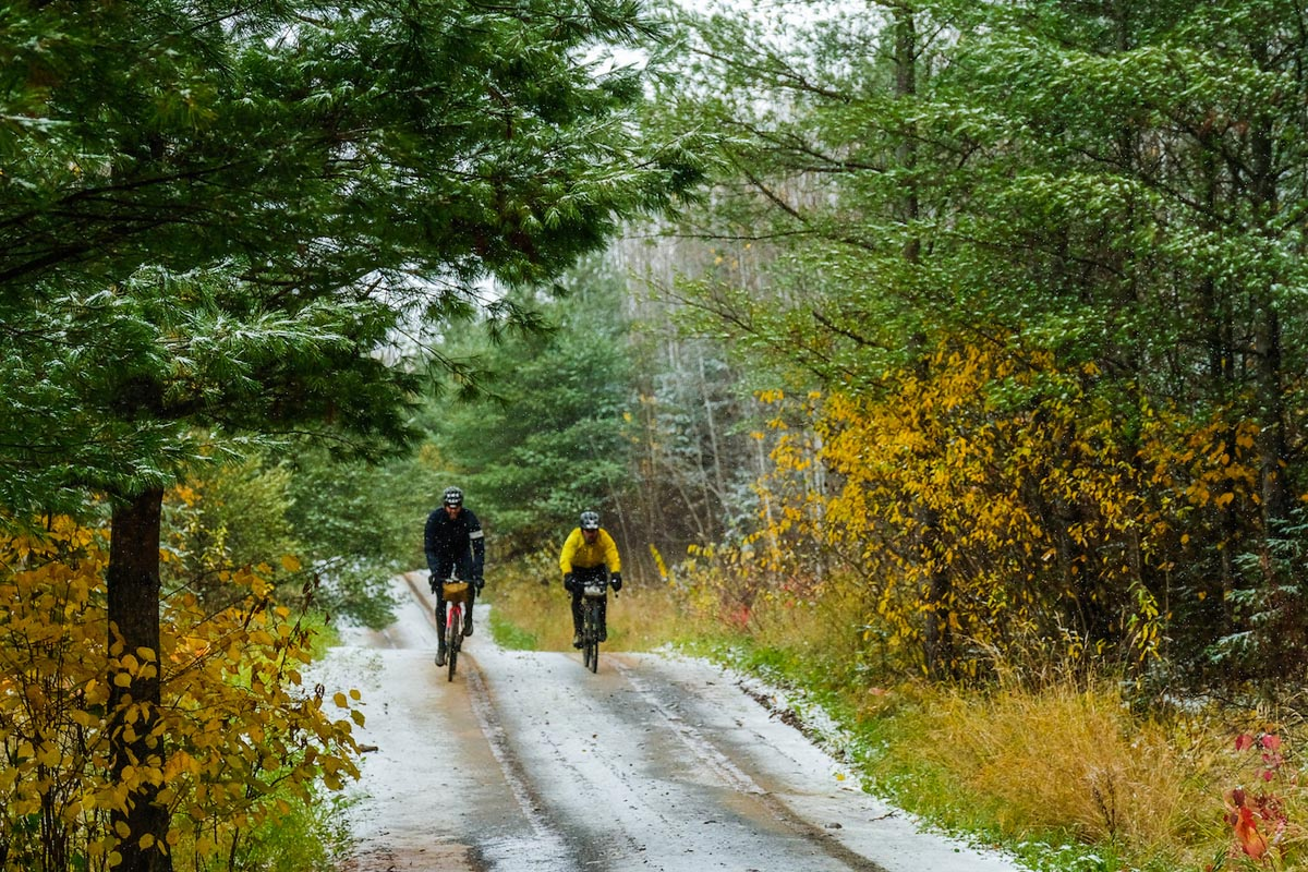 Northwoods route riding