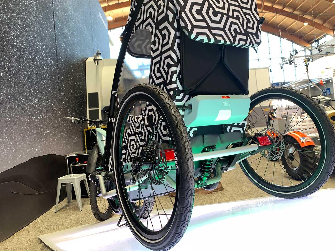 leggero overrun automatic braking prototype for kids bicycle trailers