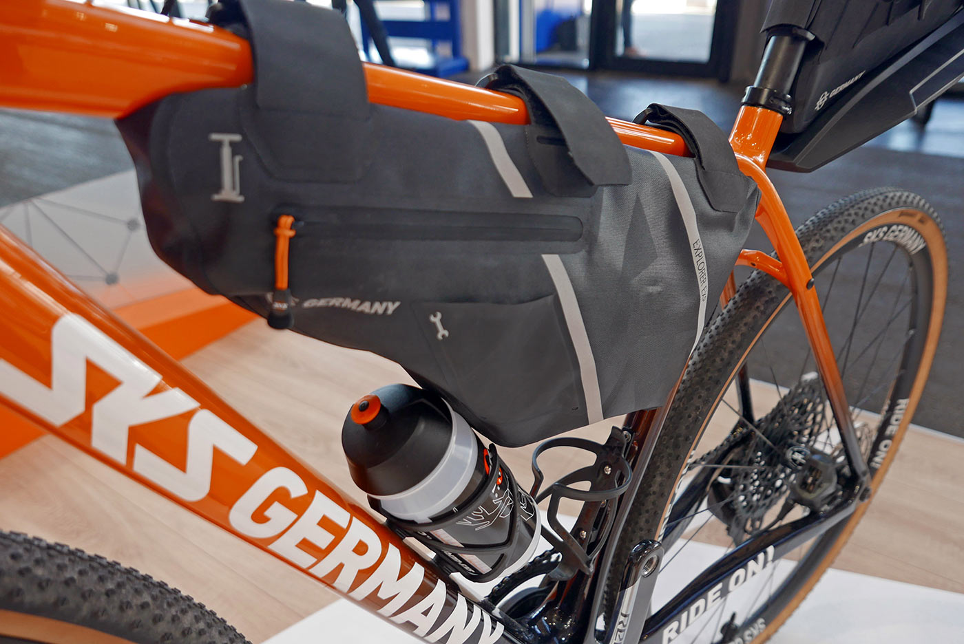 sks explorer waterproof framebag for bikepacking