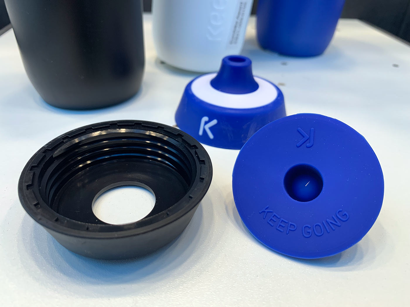 keego titanium water bottle for cyclists