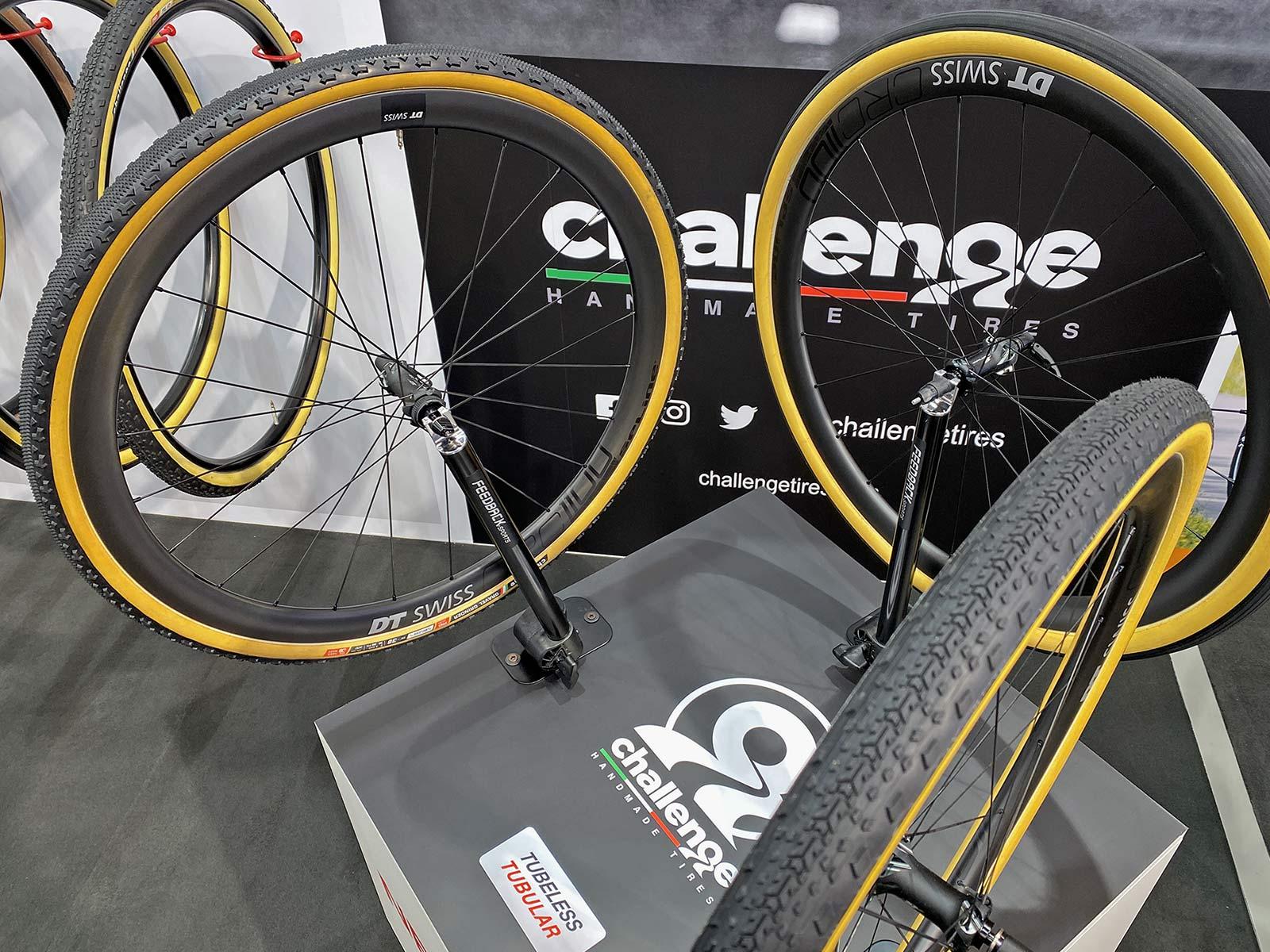 Challenge gravel bike tires, handmade tubeless tubular H-TLTU,