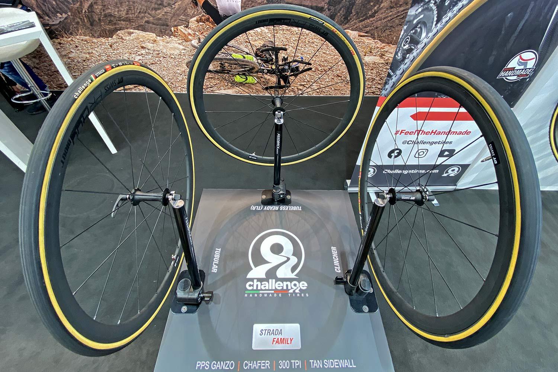 Strada road tires get handmade tubeless & lighter protection
