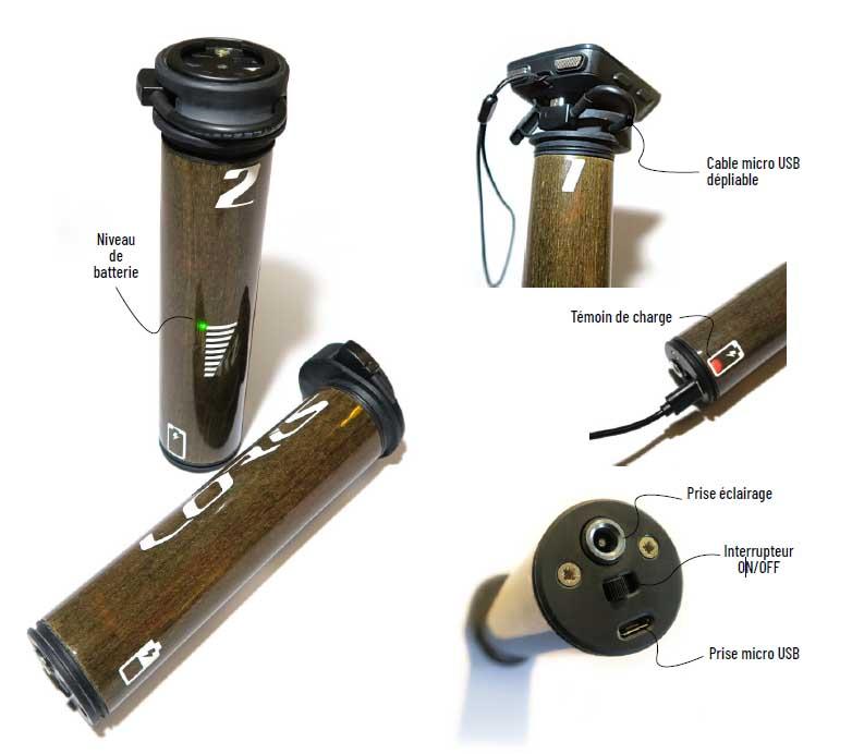 Loris Klin battery pack