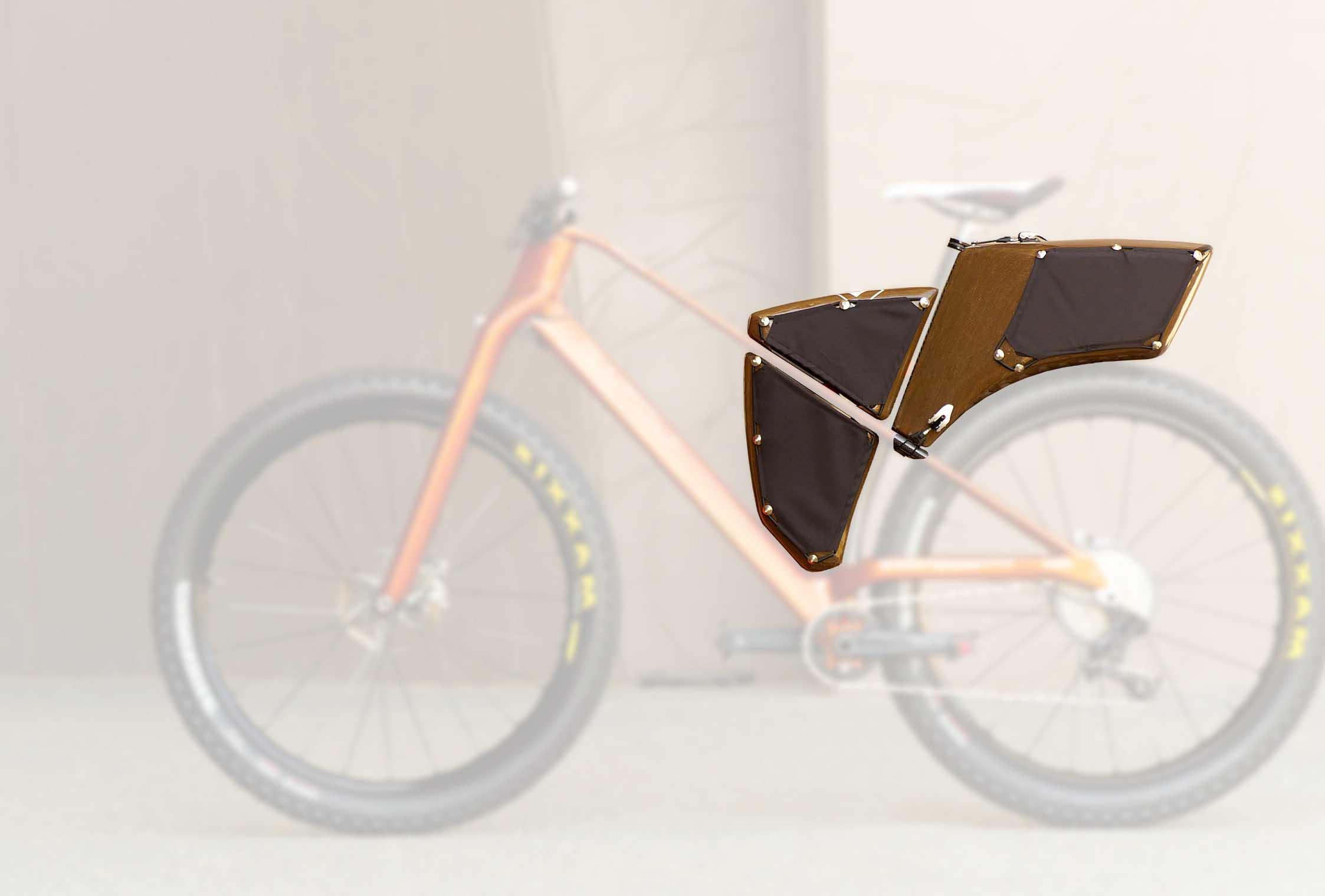 Loris Klin bikepacking bags
