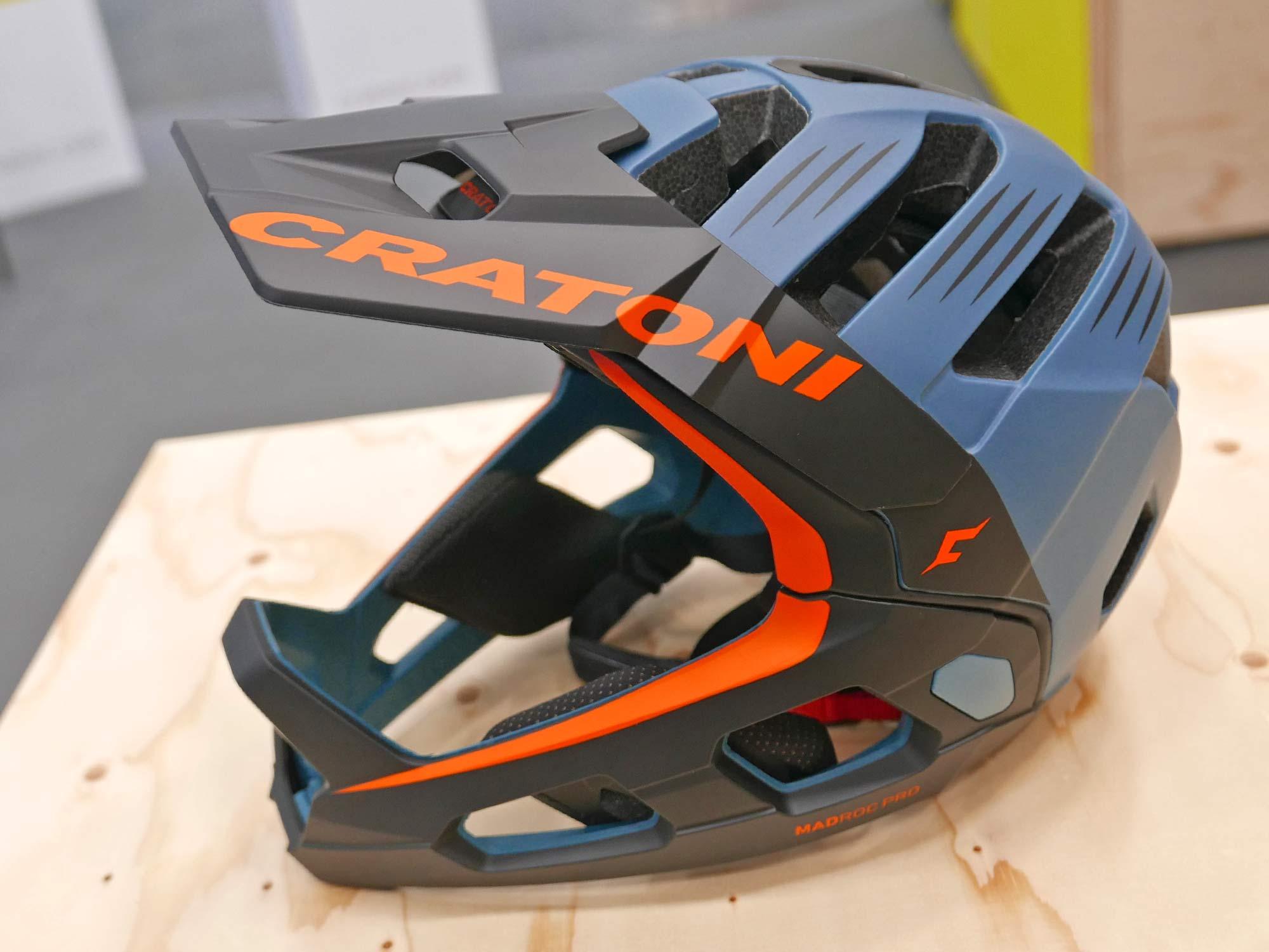 Madroc Pro smart convertible full face MTB helmet