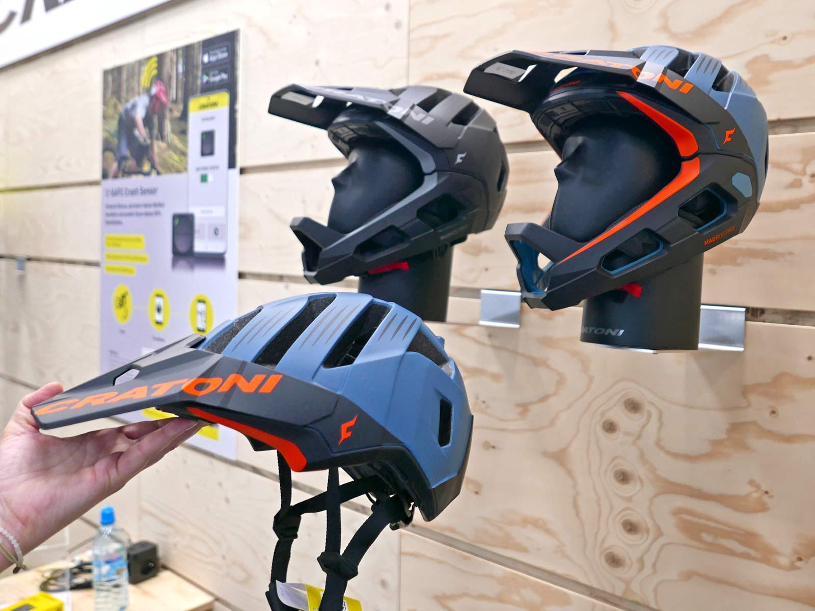 Madroc Pro smart convertible full face MTB helmet, colors