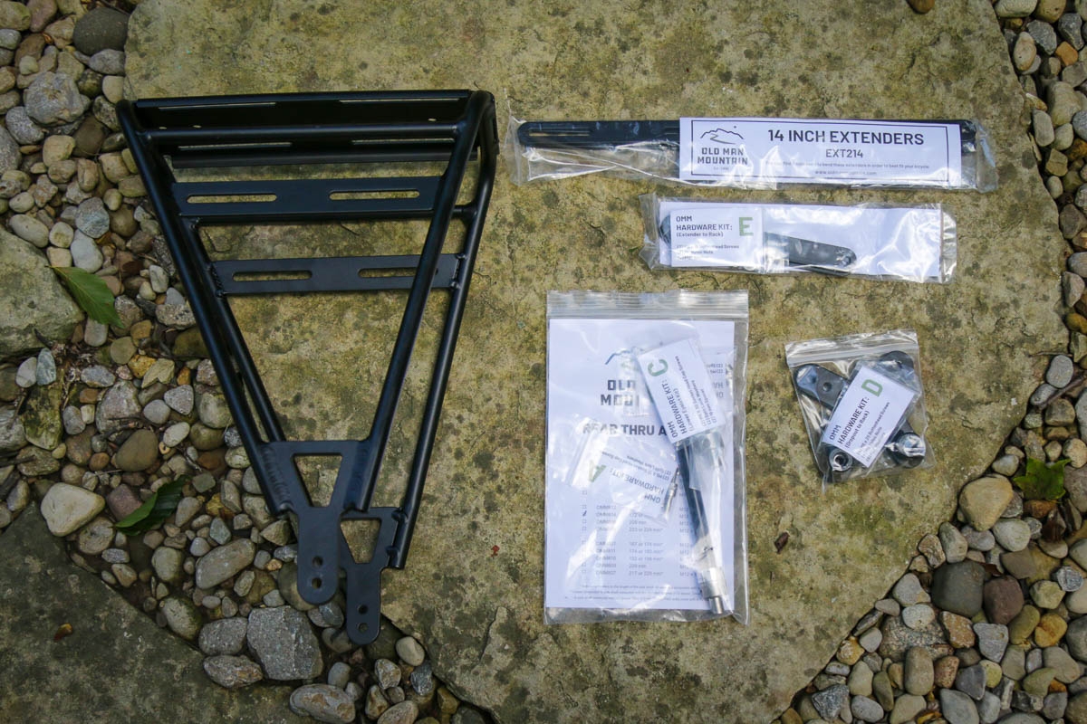 Old Man Mountain Divide Cargo Rack with fit kit