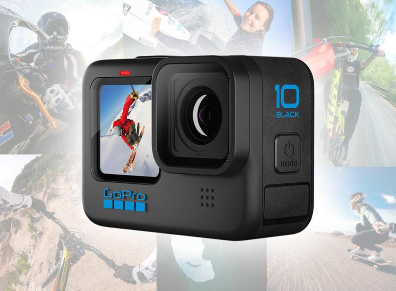 new gopro hero 10 action camera