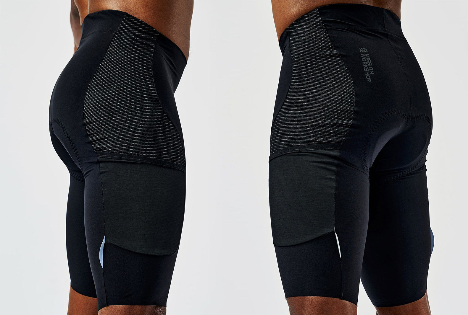 mission pro cycling shorts from mission workshop