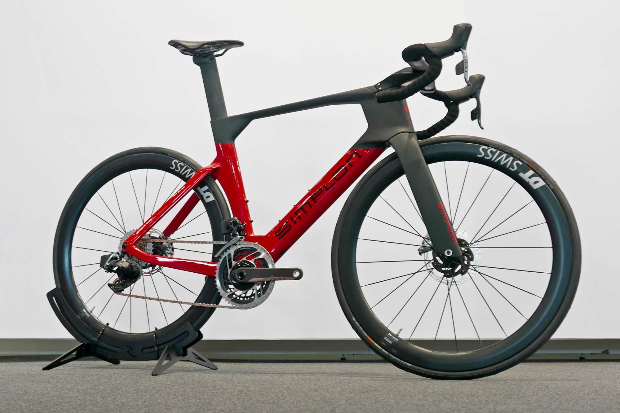 Simplon Pride II disc brake carbon aero road bike