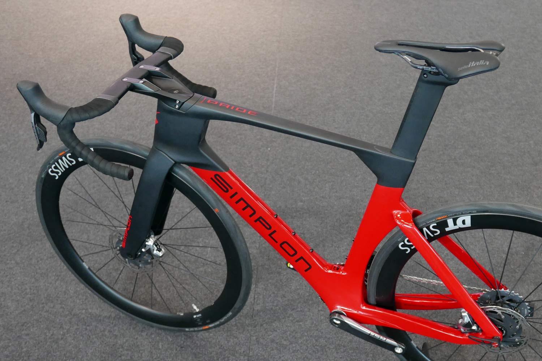 Simplon Pride II disc brake carbon aero road bike,non-driveside