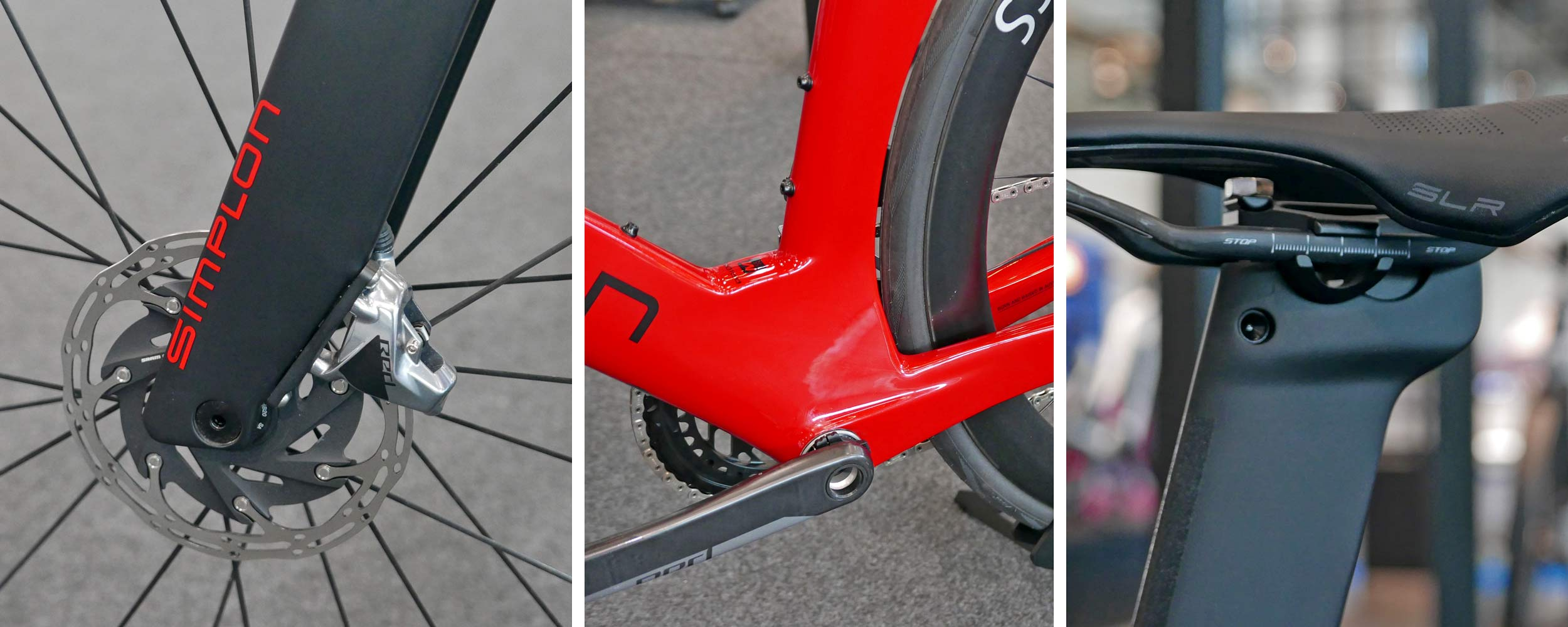 Simplon Pride II disc brake carbon aero road bike,details
