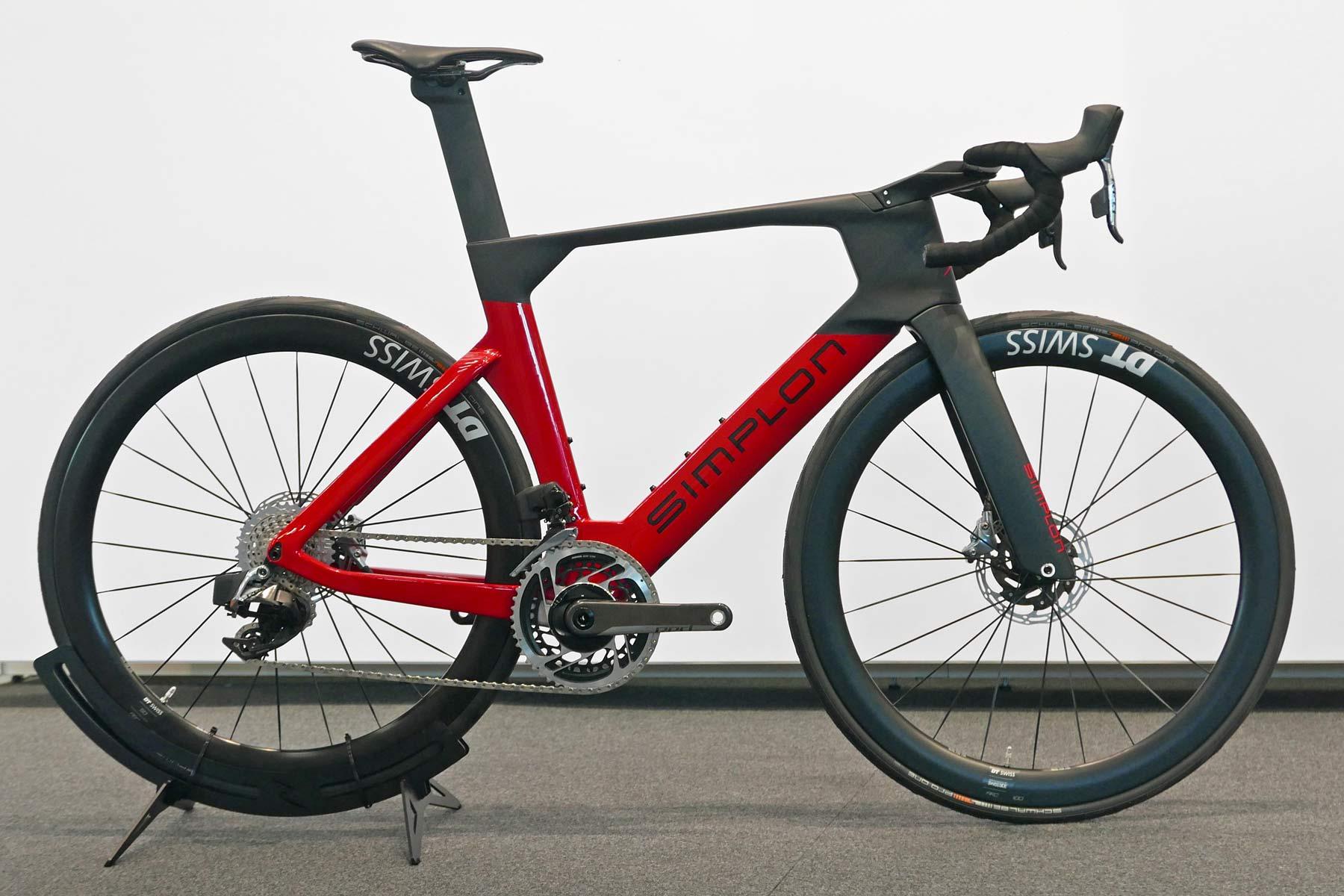 Simplon Pride II disc brake carbon aero road bike,complete