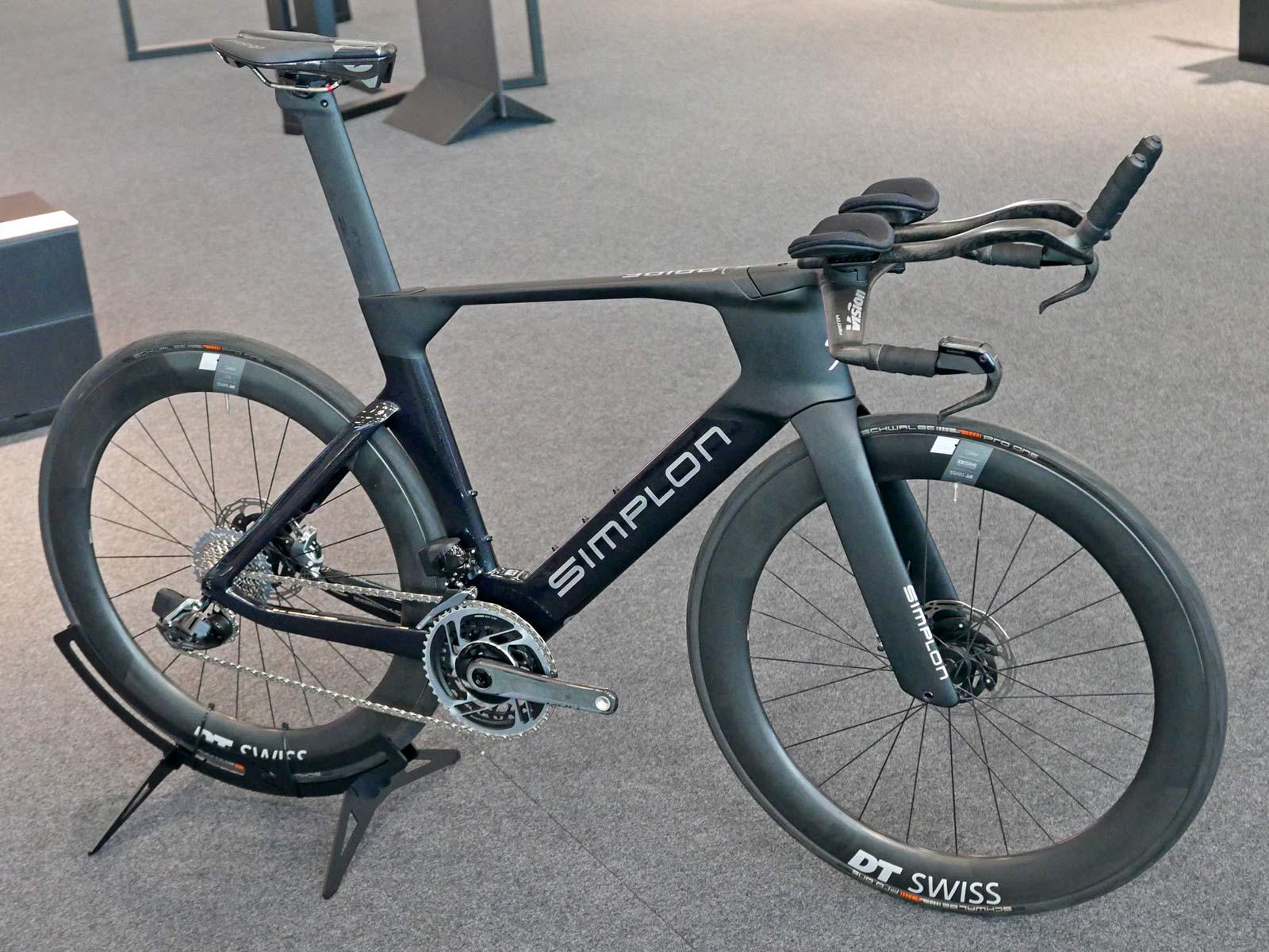 Simplon Pride II disc brake carbon aero road bike,Pride Tri complete