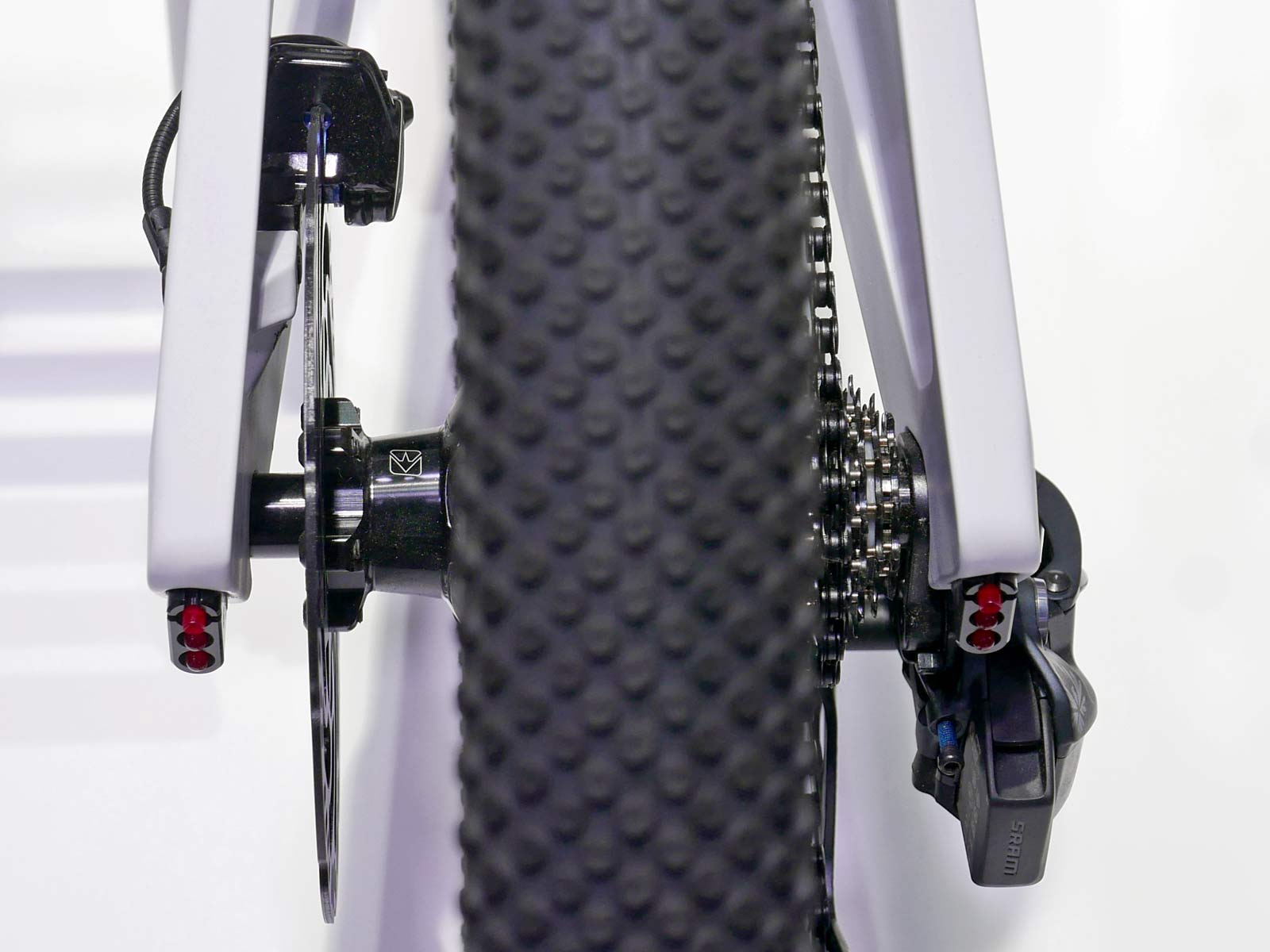 Bosch eBike ABS prototype e-bike with integrated anti-lock braking, tidy lighting