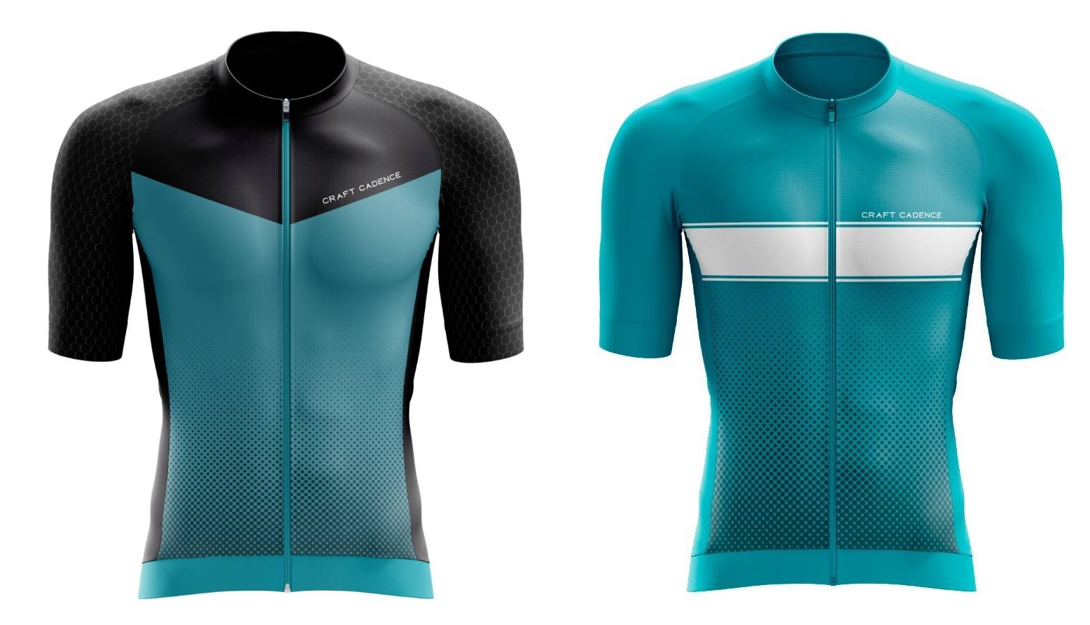 Recycled PET cycling jerseys