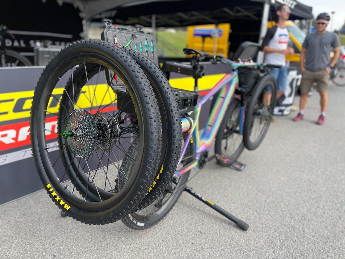 """Brad Copeland's Scott """"Super Support Bike"""""""